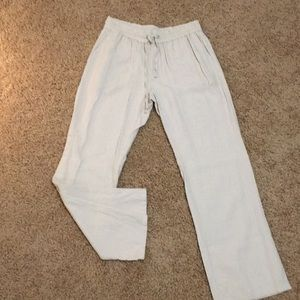 Linen pant with pockets